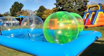 Water Zorb Balls & Pool