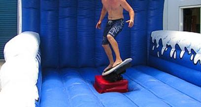 Mechanical Surfboard Ride