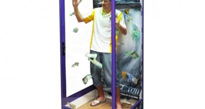 Grab for cash